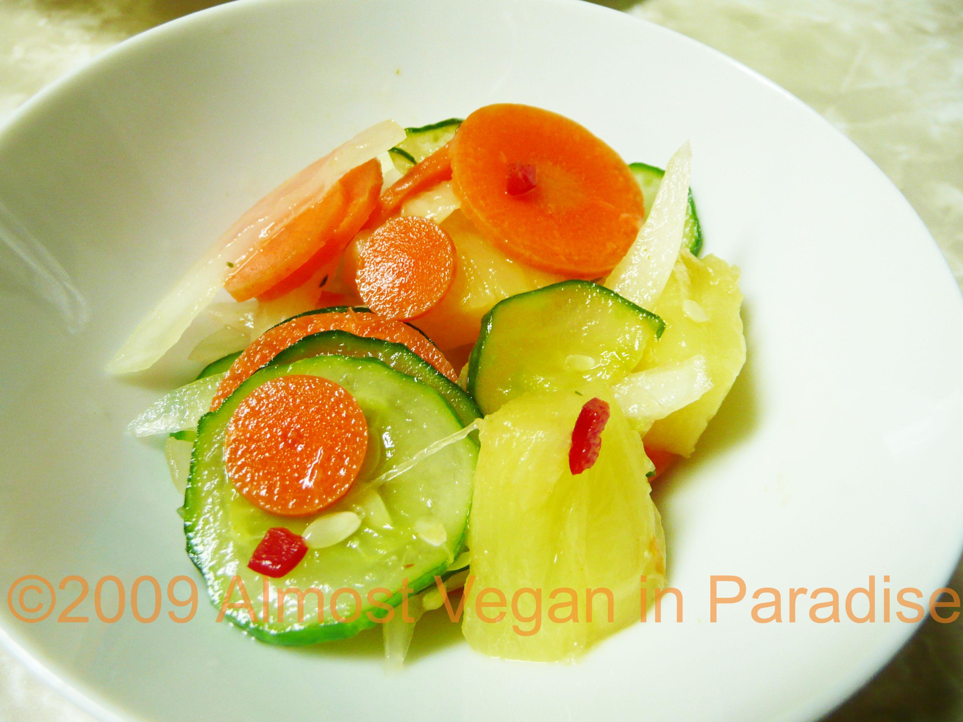 Kerabu Nenas, Pineapple Salad