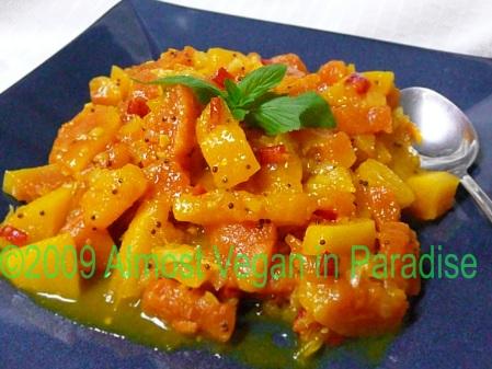 Papaya Curry