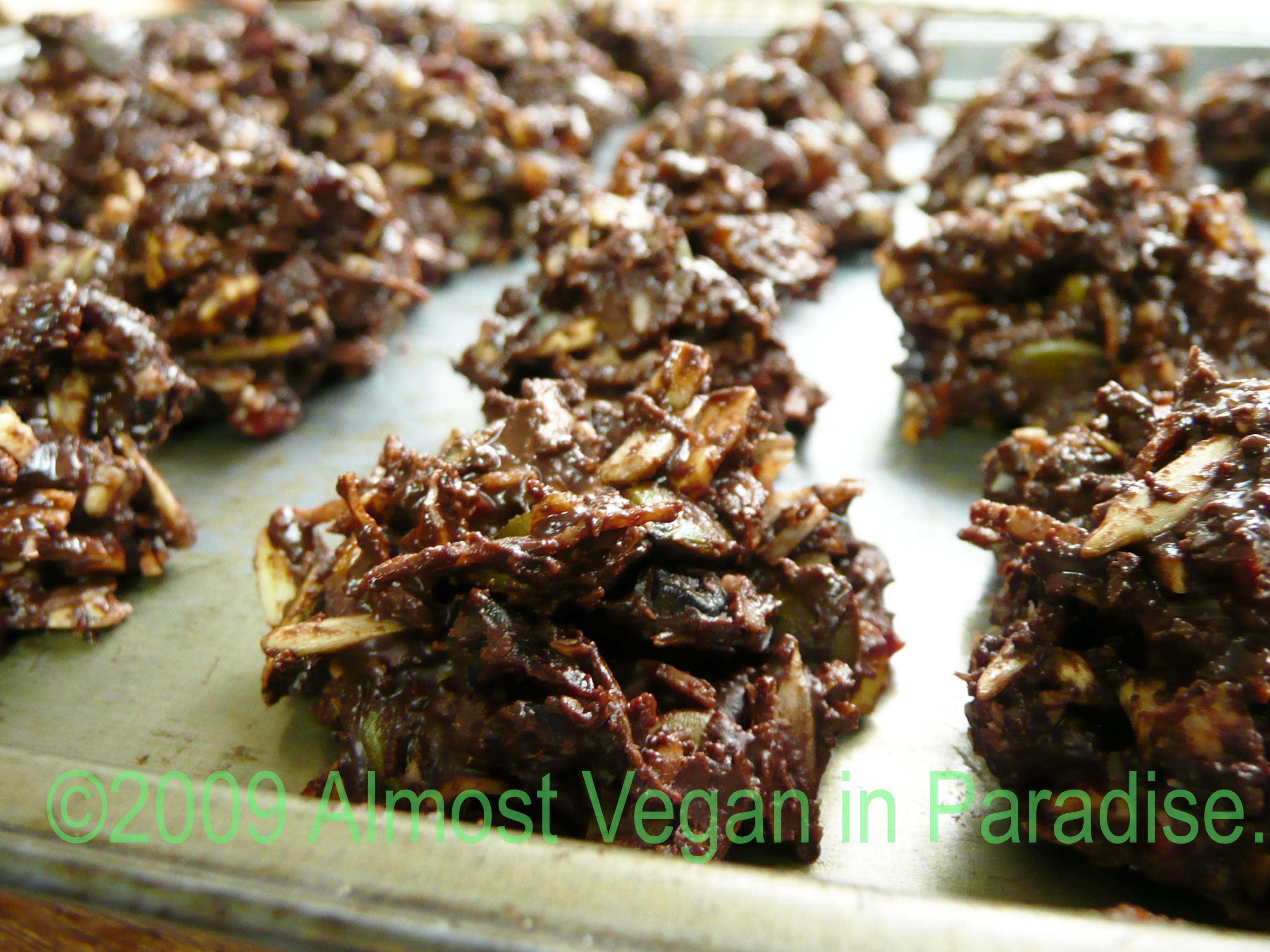 Christmas Chocolate Clusters