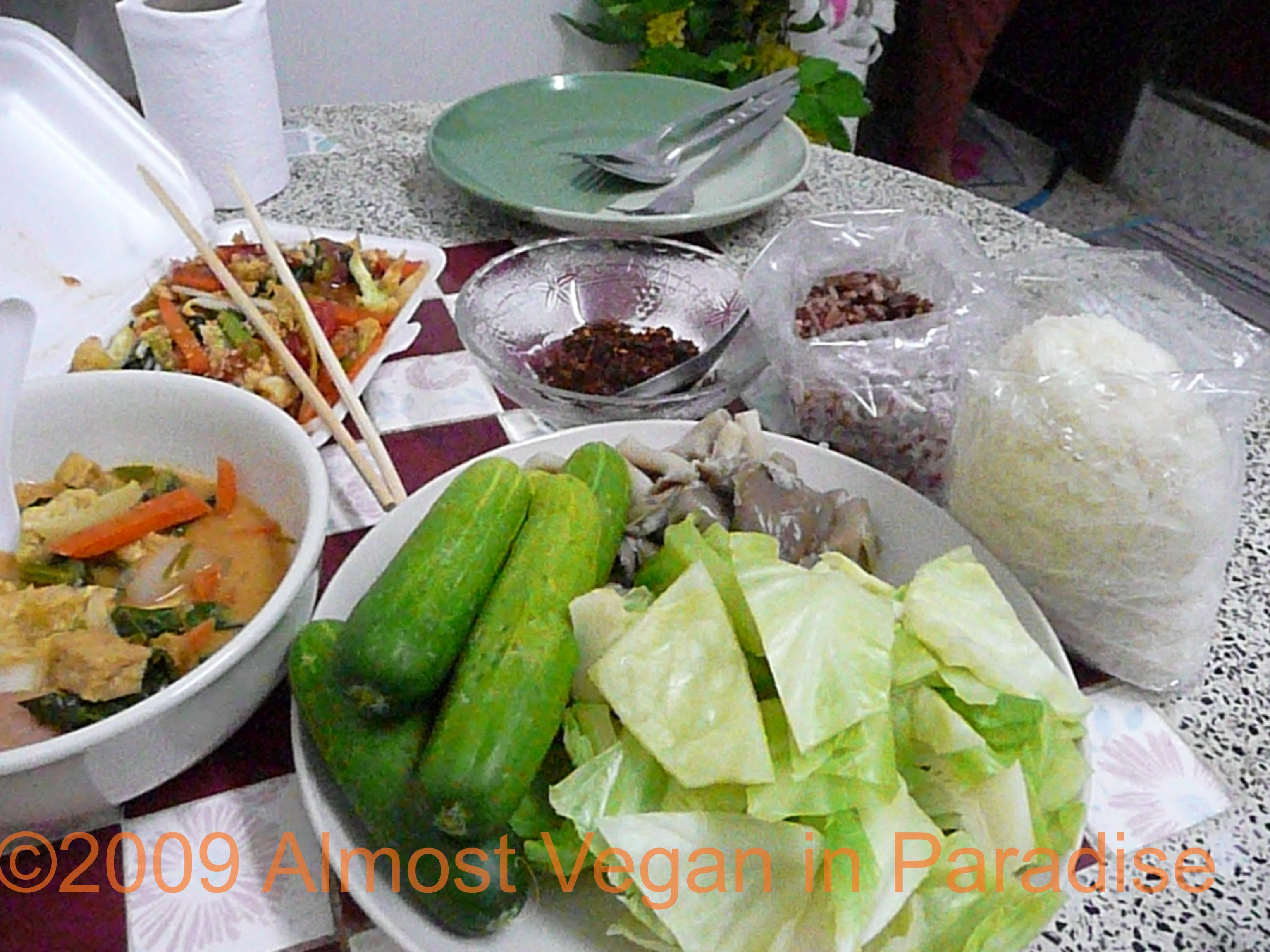 Thai Thanksgiving Feast