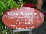 May Kaidee Vegetarian Restaurant, Chiang Mai, Thailand