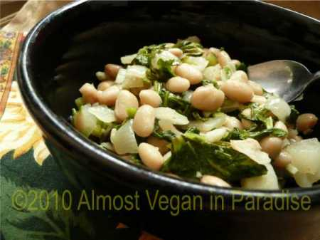 White Beans and Broccoli Raab
