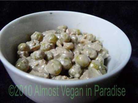 pea salad vegan